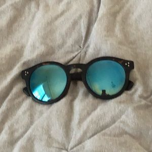 reflective pacsun sunglasses